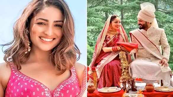 Yami Gautam is 'simply happy' in her first pic post-wedding, looks pretty in floral dress worth Rs 8900-SYT