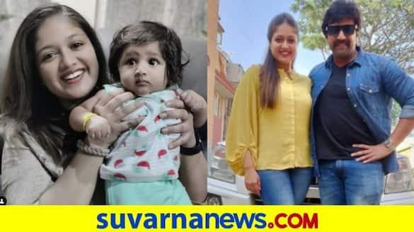 Actress Meghana raj recalls sweetest memories about Chiranjeevi Sarja vcs