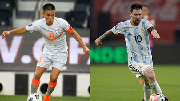 Sunil Chhetri surpasses Lionel Messi, hands India crucial win in FIFA World Cup qualifiers-ayh