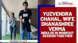 Yuzvendra Chahal, Dhanashree Verma's workout session together will make you envy (Watch)-ayh
