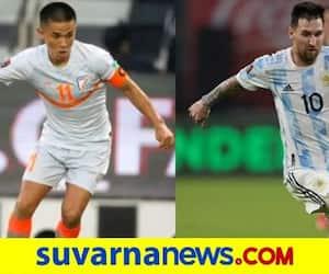 Sunil Chhetri overtakes Messi Mabkhout to become 2nd highest international goalscorer among active players kvn