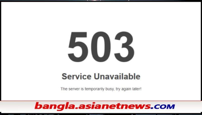Error 503 - Several global websites facing a global outage ALB