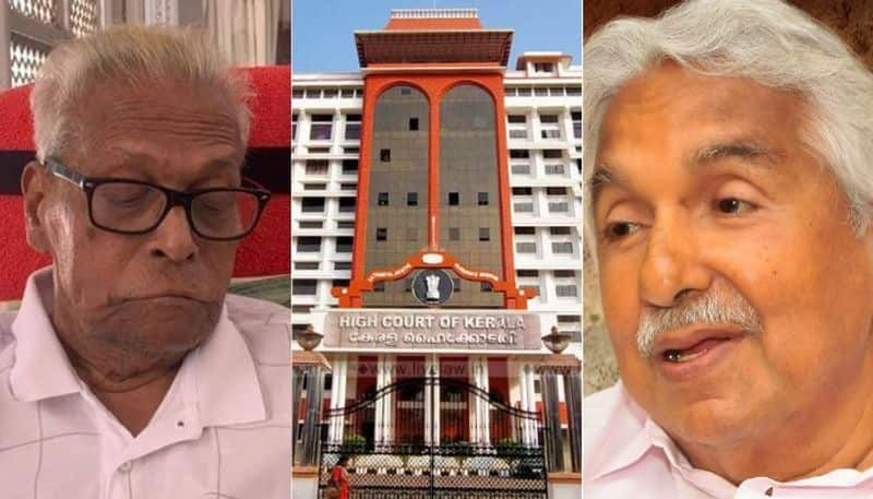 No vigilance inquiry in Pattoor case High court rejects VS Achuthanandan appeal plea