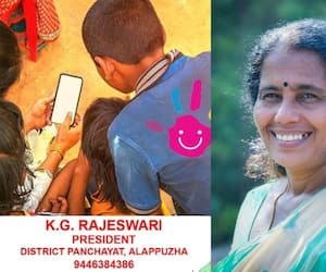 Alappuzha district panchayt president seeks education aid for poor students