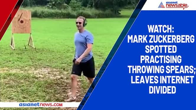 Watch Mark Zuckerberg spotted practising throwing spears; leaves internet divided-tgy
