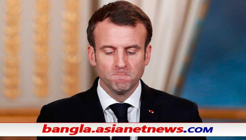 French president Macron tried to shake hands, get slapped ALB