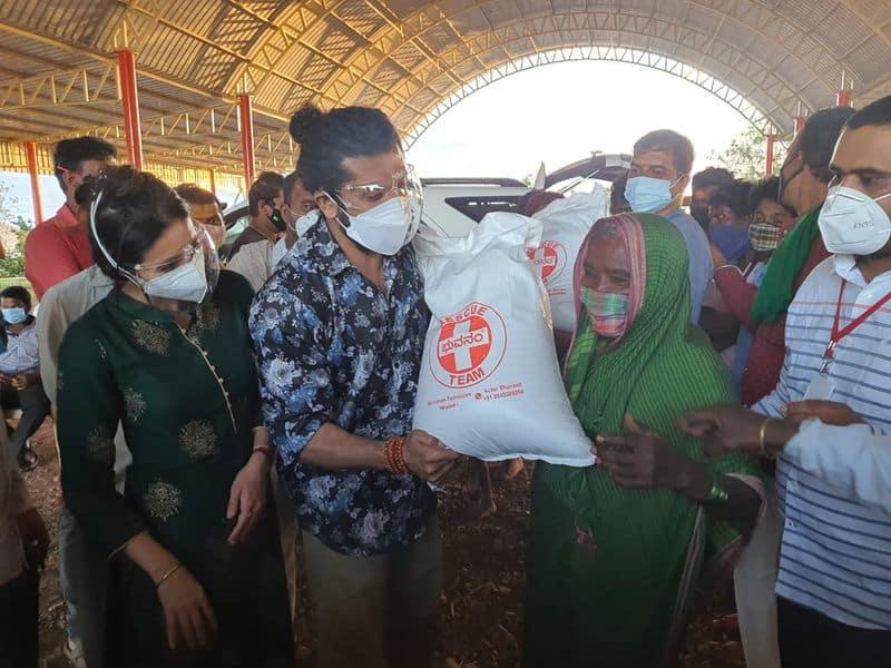 ಉತ್ತರ ಕರ್ನಾಟಕಕ್ಕೂ ವಿಸ್ತರಿಸಿದ ಭುವನಂ ಸಂಸ್ಥೆಯ ನೆರವು ಕಾರ್ಯ