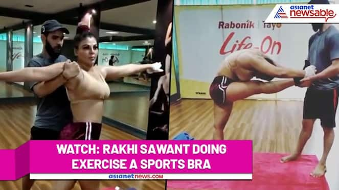 Rakhi Sawant is all set to lose weight; actress shares her 'HOT' yoga videos (Watch) - gps
