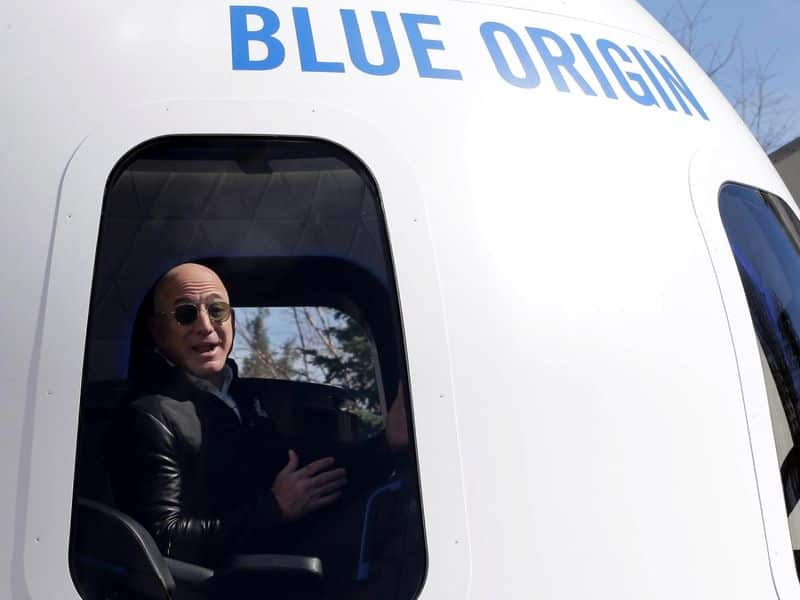 Jeff Bezos is going to space on first crewed flight of rocket