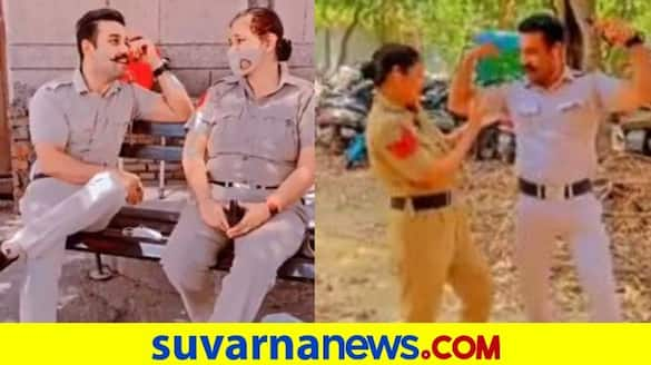 Delhi Cops Who Made Bollywood Dance Videos on Duty Issued Show cause Notice mah