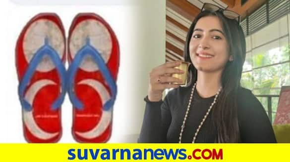 Adhvithi Shetty disappointed to see Tulu flag on slipper vcs