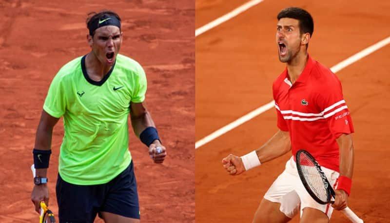 Rafael Nadal and Novak Djokovic face off in semi-finals of French Open 2021 spb