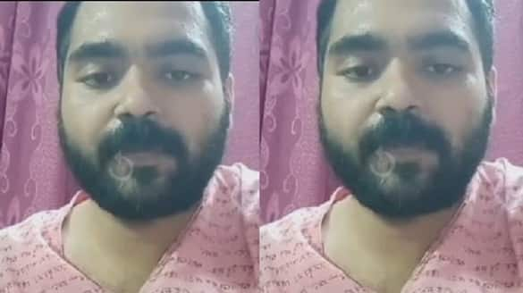 Bengali actor Suvo Chakraborty attempted suicide on Facebook Live police resucued ckm