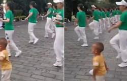 <p>child dancing viral</p>