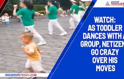 Watch: As toddler dances with a group, netizens go crazy over his moves