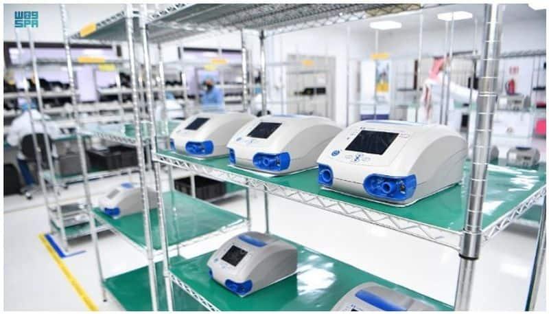 Saudi Arabia to build ventilators a year to save covid patients