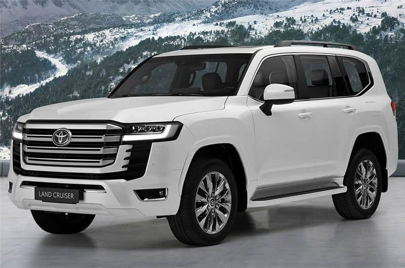 2021 Toyota Land Cruiser Launched