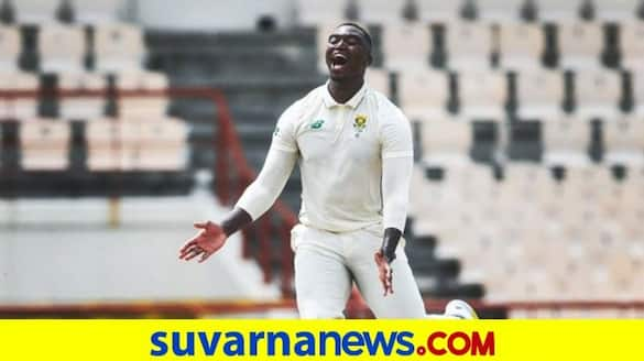 Lungi Ngidi 5 Wickets Haul helps South Africa Puts Driver Seat Against West Indies at St Lucia kvn