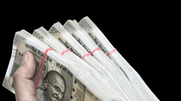 two lakh rupees seized from forest officers car