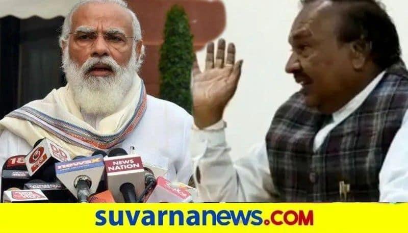 Minister KS Eshwarappa Praises PM Modi On Free vaccination Program snr