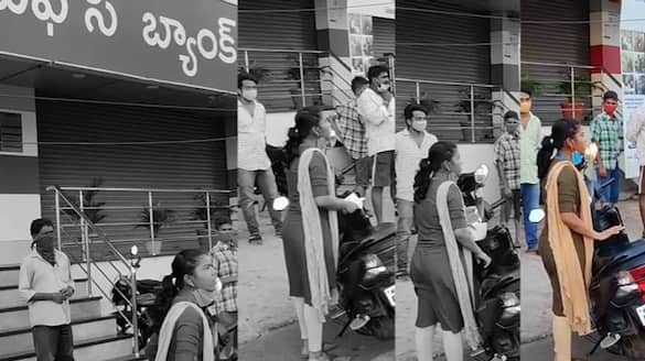 ap police released cctv footage on visakhapatnam apollo pharmacy health worker protest ksp