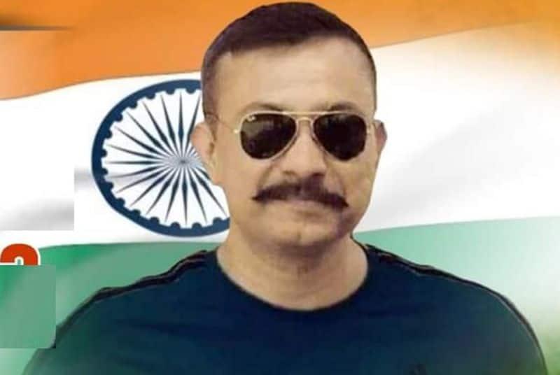 CRPF commandant Chetan Cheetah fighting against covid 19 in AIIMS hospital Haryana ckm