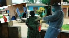 health workers engaged in covid awareness drive in Palakkad tribal settlements