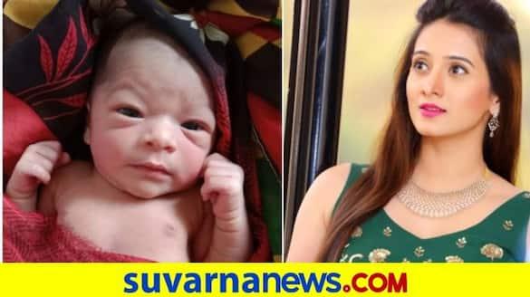 New born from Belagavi savasuddhi village is named after actress Harshika poonacha vcs
