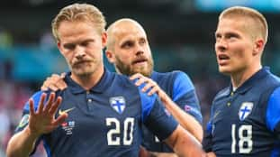 Finland beat Denmark by 1-0 in Euro Cup