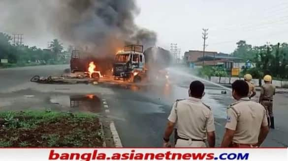 Two died and many injured due to accident on national Highway at Asansol in WB RTB