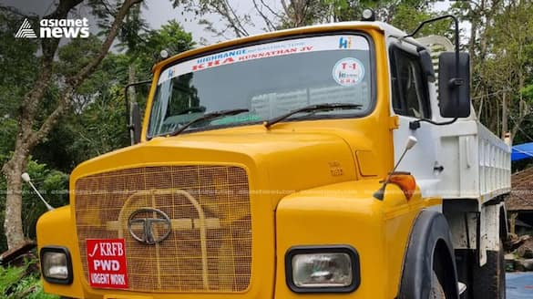 forest department takes lorry used for moving trees that were cut illegally