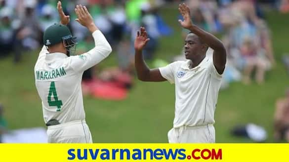 Kagiso Rabada 5 wickets Haul help South Africa Cricket Team Beat West Indies by Innings and 63 runs in ST Lucia kvn