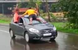 <p>car stunt</p>