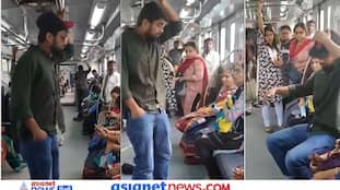 मेट्रो में सीट पाने के लिए शख्स ने किया कुछ ऐसा, सारे लोग हो गए खड़े, लोग बोले- गजब टोपीबाज है