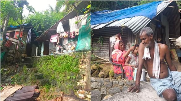 sixteen homeless families suffer in rain at kovalam
