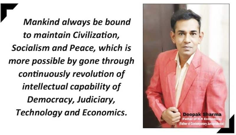 A clear indication about savior of India as well as mankind.