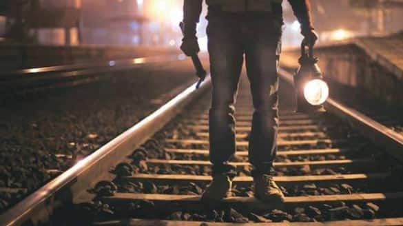 Railway staff hit by light train engine died while night patrolling