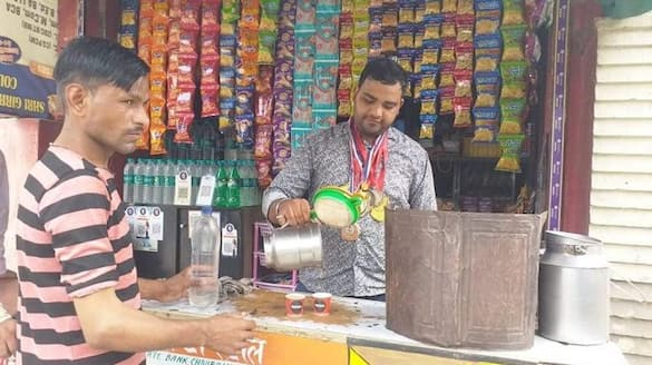 Poverty forces world karate champion to sell tea - bsb