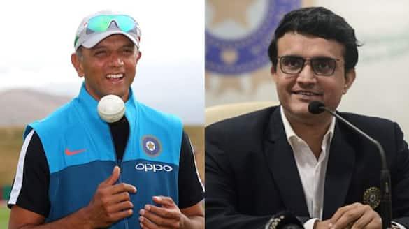 Sourav Ganguly announced, Rahul Dravid was Coach of team india in sri lanka tour spb