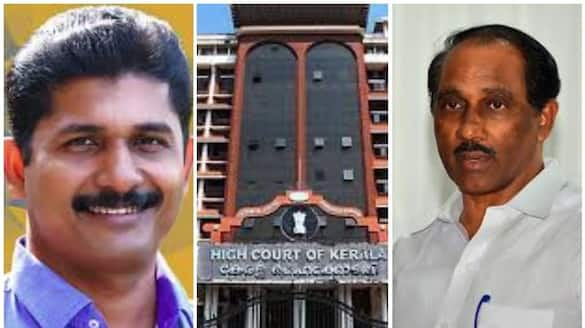 m swaraj filed a petition in the high court seeking annulment of k babus victory in tripunithura.