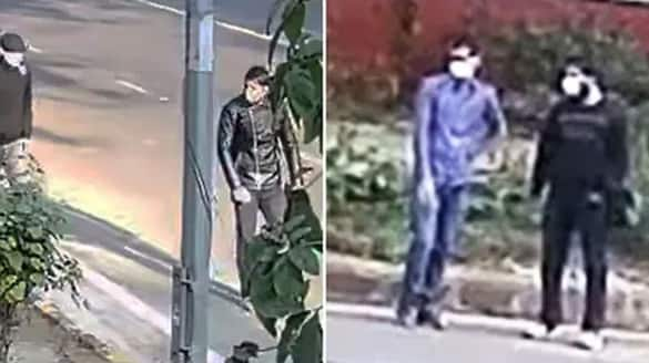 NIA hunts two suspects for blast near Israel embassy releases video ksp