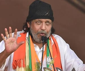 Actor and BJP leader Mithun Chakraborty grilled by Kolkata Police over election speech