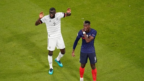 Euro 2020: Germany's Rudiger denies biting Pogba in match against France