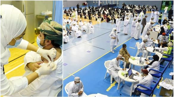 more than five lakh people gets covid vaccination in Oman