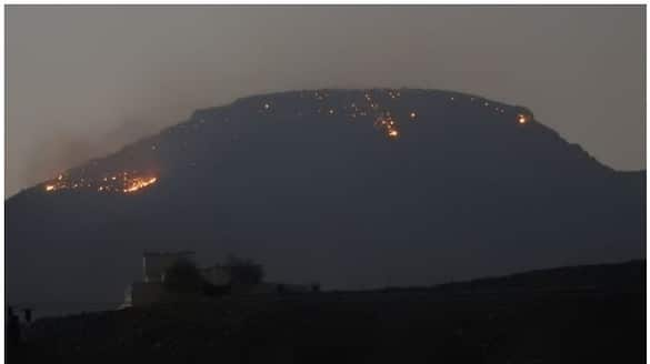 fire incident reported in Al Hark area of Oman