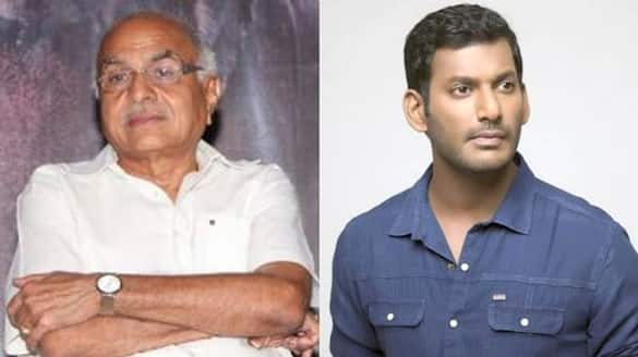 Producer R.B Chowdry  statement about vishal complaint