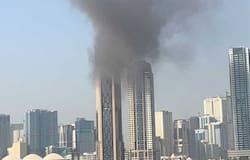 <p>Sharjah fire</p>