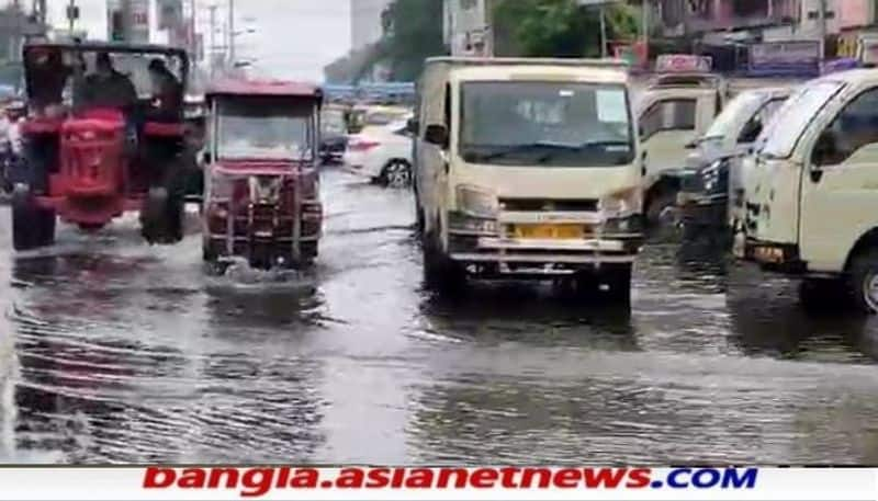 Heavy Rain fall  forecast  in North Bengal due to the cyclone on Bay of Bengal RTB