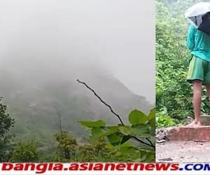Heavy rains caused landslides in the hills of  Purulia RTB