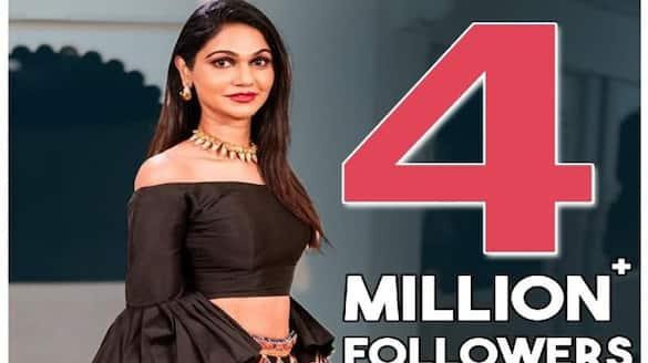 allu arjun wife allu sneha reddy reached 4 millions followers in instagram arj